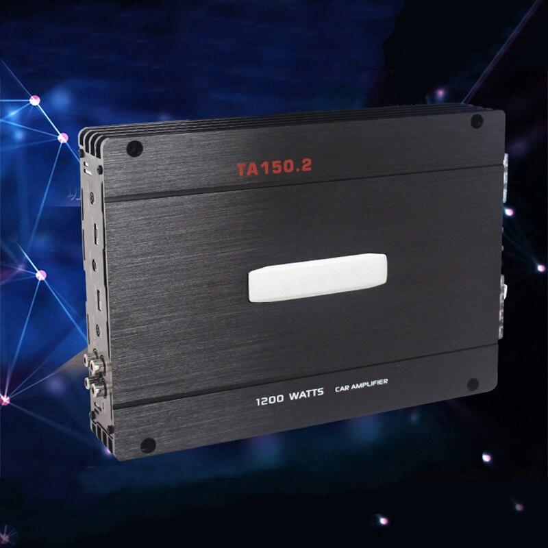 Large Power Two Channel Car Amplifier Subwoofer Auto Sound 12V Subwoofer Power Amplifier Super Compatible цена и фото