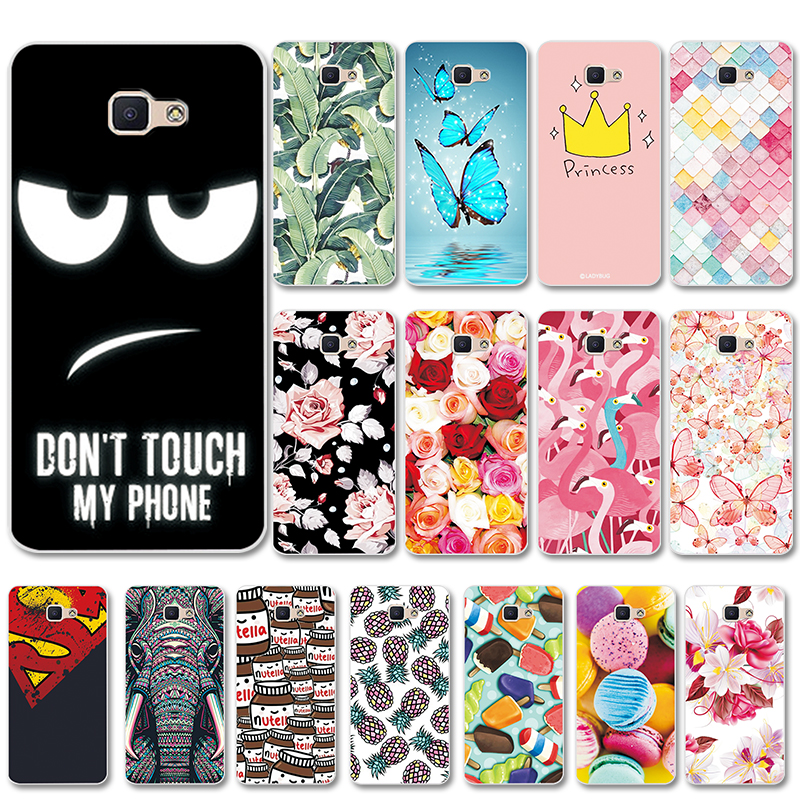 "Cool Design Various Case For Samsung Galaxy J7 Prime, Fashion Fundas Soft Silicone Back Cover For Samsung J7Prime 5.5"" Capa(China)"