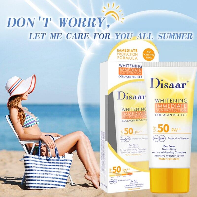 SPF 35 Summer Concealer Sunscreen Cream Body Facial Sun Lotion Isolation UV Sunblock Waterproof Lasting Cosmetic E1
