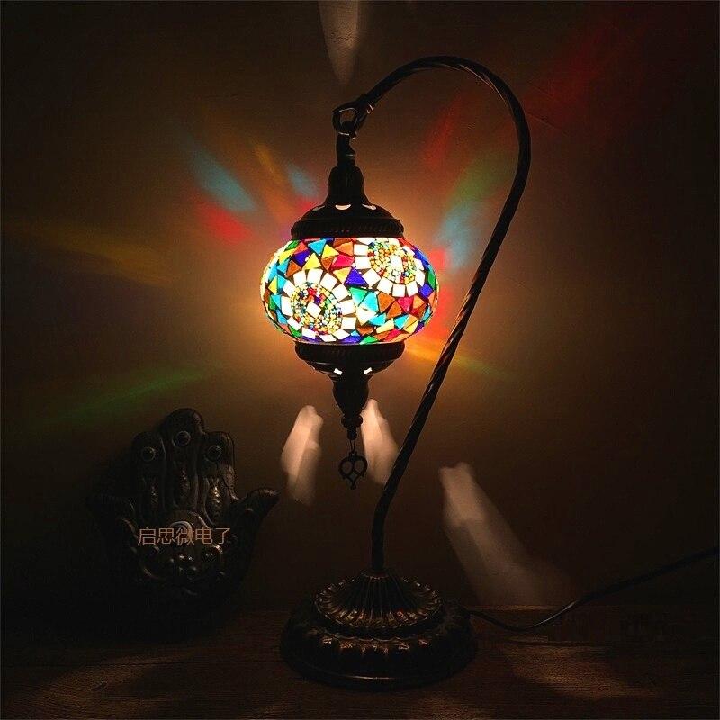 US $50.43 36% OFF|Kunst Dekor Tisch Lampe E14 Halter Led lampe Schreibtisch  Lampen, nacht Hause Leuchten Wohnzimmer Schlafzimmer Wohnkultur Kaffee ...