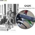 Японский OGK Ретро руль для велосипеда ручка для городской дороги резиновый руль для велосипеда крышка 125 мм * 22 2 мм аксессуары для велоспорта