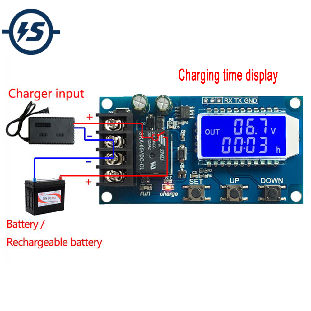 detail feedback questions about 10a 6 60v lithium battery charge controller protection board lcd display integrated circuit overcharge protection control  [ 1000 x 1000 Pixel ]