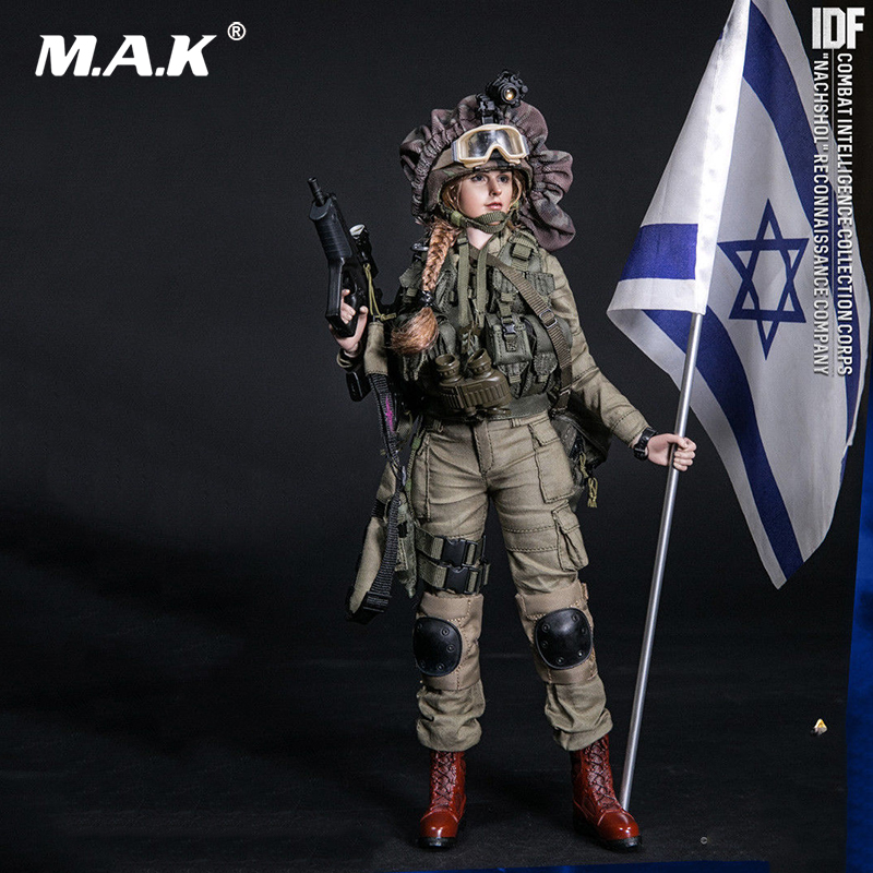 Collectible Full Set Female Solider Action Figure IDF Combat Intelligence Corps 1/6 Nachshol Reconnaissance Company Figure Gift stainless steel bathroom towel holder wall mounted towel rack bath towel clothes organizer storage shelf with 4 hooks towel bar