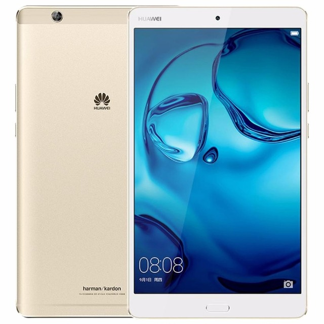 Original 8.4 inch Huawei MediaPad M3 BTV-W09 Kirin 950 Octa Core 4x2.3GHz + 4x1.8GHz Android 6.0 4GB/ 32GB Tablet PC GPS 8MP