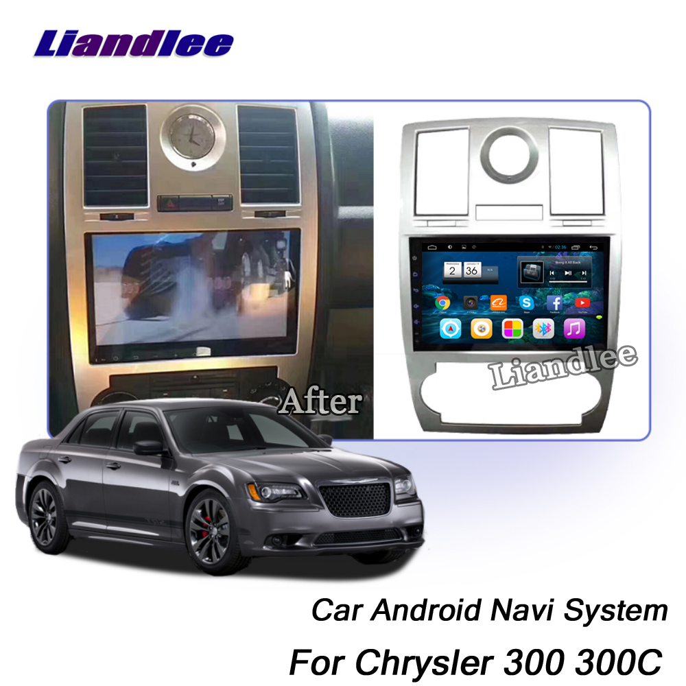 Liandlee Car Android System For Chrysler 300 300C 2004 2010 Radio Stereo Carplay BT TV GPS