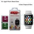 A prueba de explosiones de vidrio templado lcd película para apple watch/i watch (42mm/38mm) Envío Libre Protector de pantalla pelicula de vidro