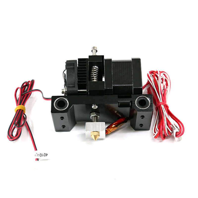 Funssor brand new A6 carriage extruder kit for Anet A6 3D printer parts single jet extruder print head 1.75mm brand new a155 6 48 288