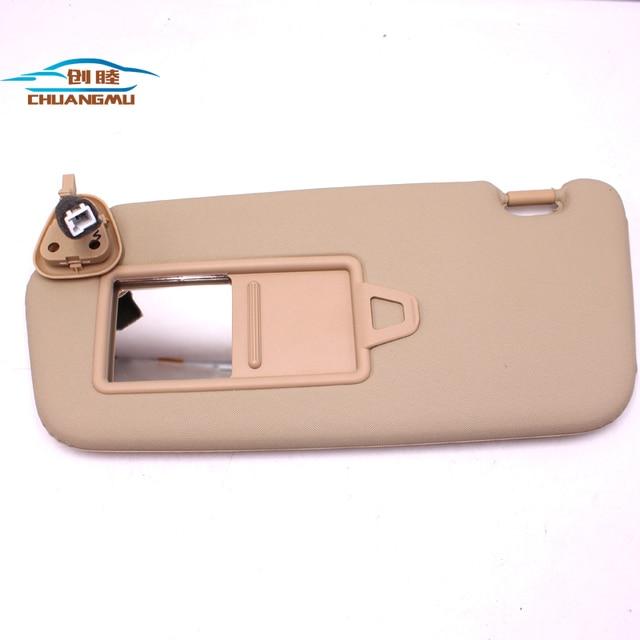 CHUANGMU For HYUNDAI ACCENT Sun visor Sunshade assembly 85210-1E361XU  85220-1E361XU 4f190602ec6