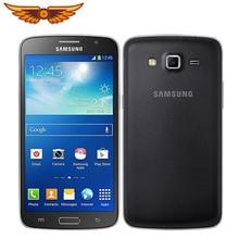 Original Unlocked Samsung G7102 Grand 2 Quad Core 5.25 Inches 8GB ROM 1.5 GB RAM 8MP GPS Dual SIM Cards Used Smartphone