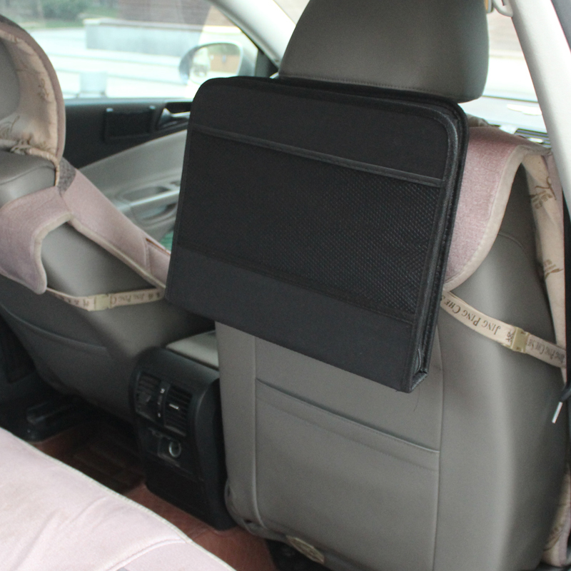 Car Laptop Holder Tray Bag Mount Back Seat Auto Table Food Work Desk ...