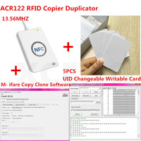 NFC USB ACR122U A9 RFID Smart Card Reader Writer For UID Changable Zero Sector Ntag213 S50