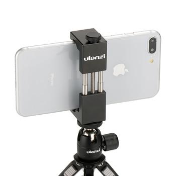 Ulanzi Universal ST-2S Vlog Smartphone Tripod Mount Aluminum Metal Phone Tripod Adapter Holder Stand for iPhone 11 Pro Max 1