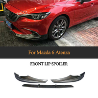 Carbon Fiber Front Bumper Lip for Mazda 6 GT GX GS GS L Touring Sedan 4 Door 2017 2018