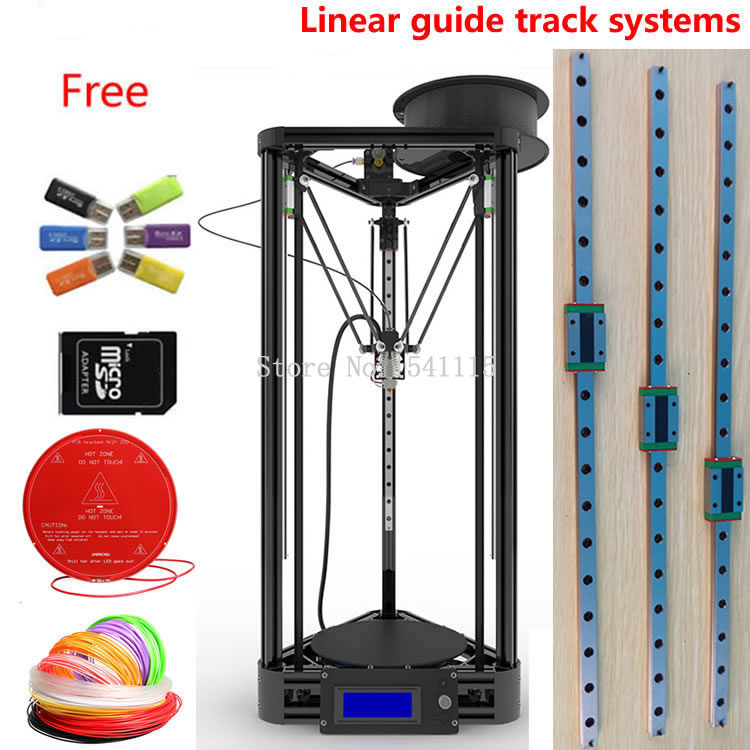 цены  DIY Kit LCD 2004 Display kossel k800 Reprap Rostock Delta kossel Mini 3D Printer