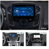 Super Slim Touch Screen Android 8.1 radio GPS Navigation for Ford Focus 2012 2018 headunit tablets Stereo Multimedia Bluetooth
