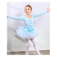 353dce82e3 Spandex Gymnastics Leotard Swimsuit Ballet Dancing Dress Kids Dance Wear  Skating Dresses For Girls