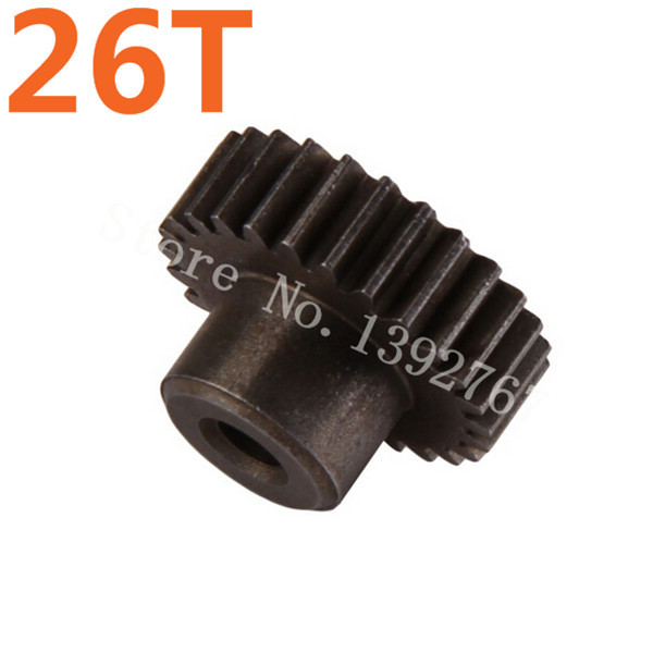 11176 Motor Gear 26T Metal HSP Spare Parts For 1/10 EP RC Remote Control Car Parts Off Road Buggy XSTR Hobby Baja Himoto hsp 1 10 rc 1 10 car off road on road truck buggy metal motor gear spare parts rc parts 11119 17t 11120 18t 11153 11173 gears