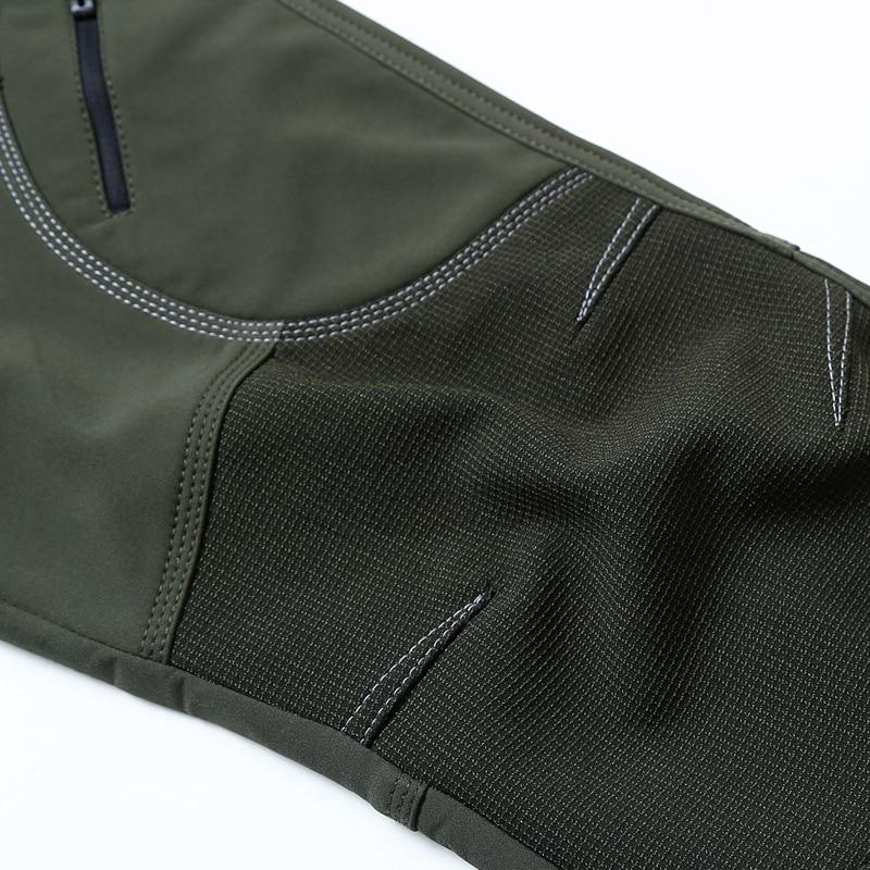 LOMAIYI 2018 Invierno Cálido Pantalones Casuales Hombres Negro - Ropa de hombre - foto 5