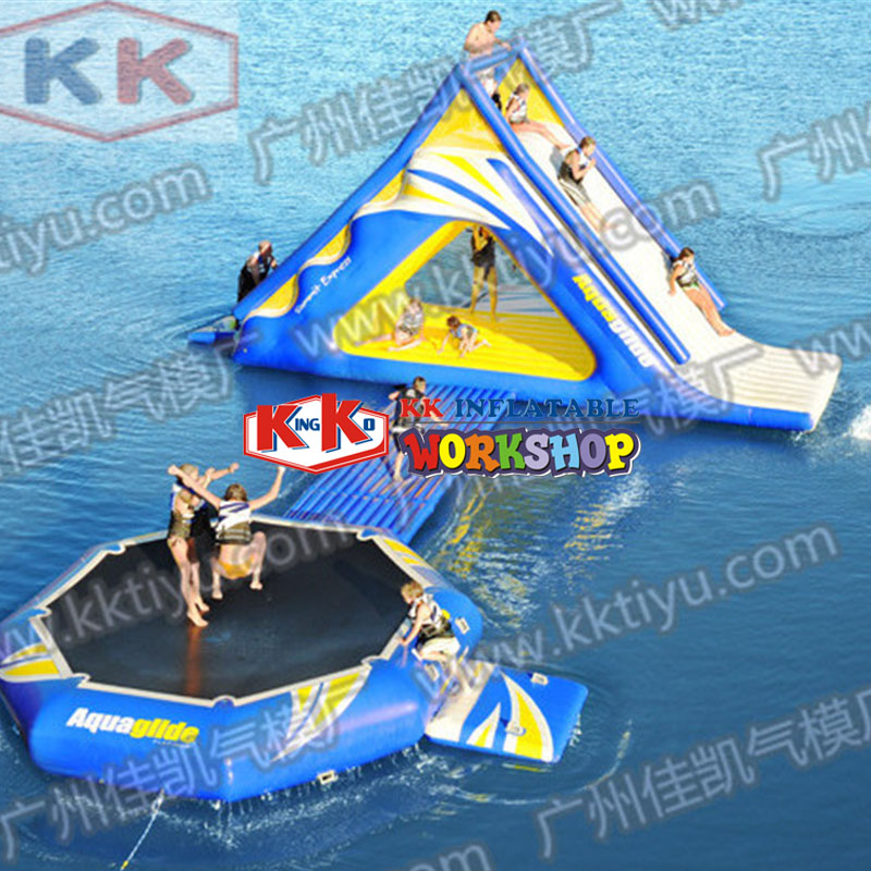 Hot sale Spring Water Paradise Accessories inflatable water park for