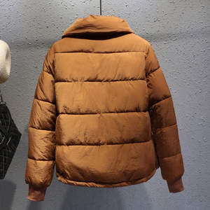 Image 5 - Plus Size XXXL Short Cotton Coat Women Harajuku Style Winter Jacket Women Chaqueta Mujer Bread Coat Cotton Jacket Parka C4900