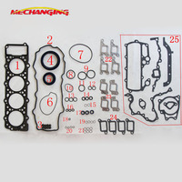 4M40 4M40 2AT 4M40 A 4M40 T For MITSUBISHI PAJERO SPORT 2.8 OR Canter 35 Engine seal Gasket Full Set Engine Gasket ME996729