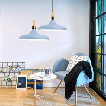 Kitchen Pendant Lights Bedroom Modern Ceiling Lamp Shop Wood Lighting Bar Office Light Home Indoor Lights Bulb For Free