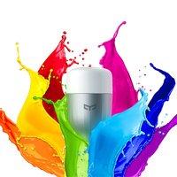 Original Xiaomi Yeelight LED Smart Bulb Colourful 8W 900 Lumens Mi Light Smart Phone WiFi Remote Control