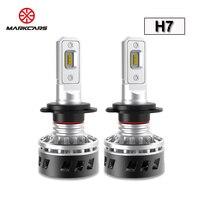 MARKCARS F1 H7 LED Car Headlight CSP Chip H1 H4 H11 H8 H9 Hi Lo Single