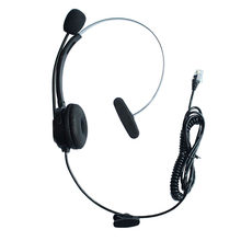 e404b200f72 Comfortable Landline Wired 4Pin RJ9 Plug Headset Noise Cancelling Microphone  IP Telephone Headphone Call Center for 3Com Aastra