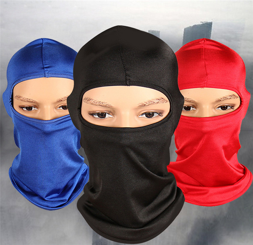 цены Outdoor Ski Motorcycle Cycling Balaclava Full Face Mask Neck Ultra Thin CZ-012 Sun Face Shield