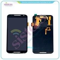 Black/White Full LCD Touch Screen Digitizer Assembly For Motorola Moto X+1 2nd Gen 2014 XT1092 XT1095 XT1096 Free Shipping
