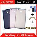 Чехол для аккумулятора AICSRAD для 5 0 дюймов xiaomi redmi 4x  Сменный Чехол для телефона с боковыми кнопками  бесплатная доставка