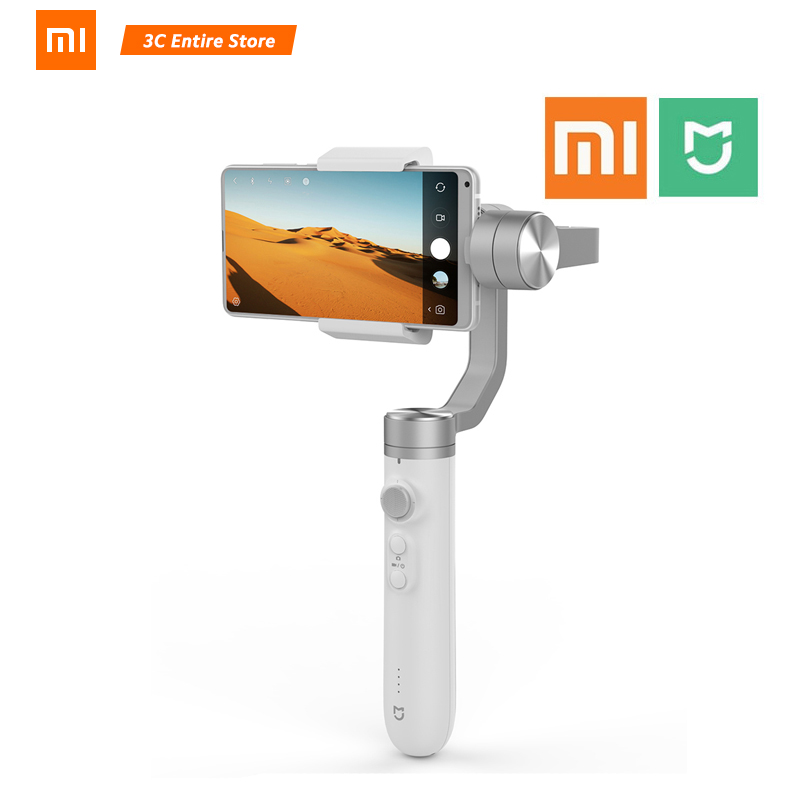 Xiaomi Mijia SJYT01FM 3 Axis Handheld Gimbal Stabilizer for Action Camera and Phone Support triaxial mechanical stabilization