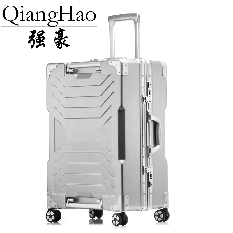 NEW 20 24 29 Aluminum frame PC rolling hardside luggage suitcase travel trolley case cabin suitcases