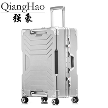 NEW 20″ 24″ 29″ Aluminum frame PC rolling hardside luggage suitcase travel trolley case cabin suitcases for girls women men