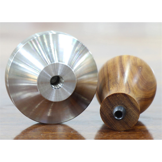 Stainless Steel With Wooden Handle Coffee Tamper- Barista Espresso Tamper 5