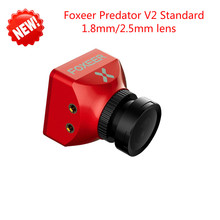 New Arrival Foxeer Predator V2 Standard Mini FPV Camera 1000TVL 2 5mm 1 8mm PAL NTSC
