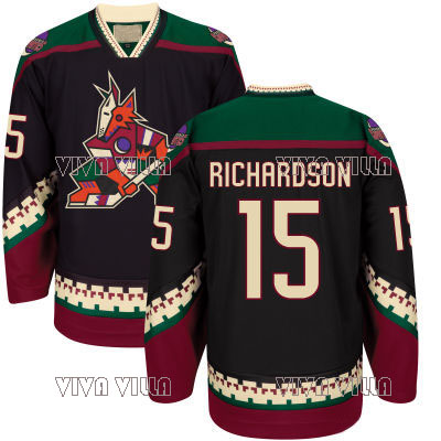 15 Brad Richardson Hockey Jersey 16 Max Domi 17 Radim Vrbata 18 Christian Dvorak 25 White DeAngelo Throwback Ice Hockey Jersey 2015 61 men s hockey jersey