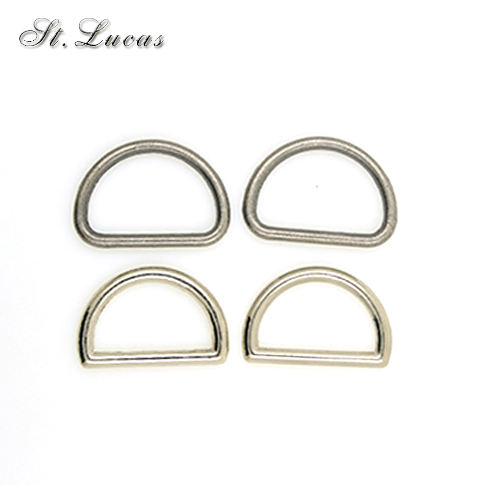 100PCs Stainless Square Metal Buckles DIY Accessories 12*5mm Connecting buckle