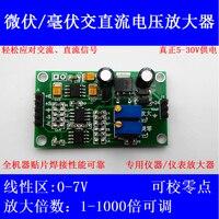 Microvolt/MV Amplificador AD620 Amplificador de Tensão com Diferencial De Alta Precisão Transmissor