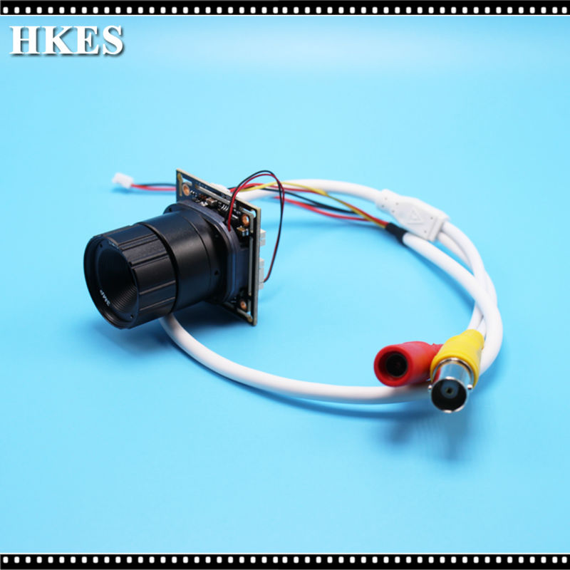 Free Shipping New Mini AHD Camera Module with Bnc Port and 16mm 12mm 8mm 6mm 4mm Lens