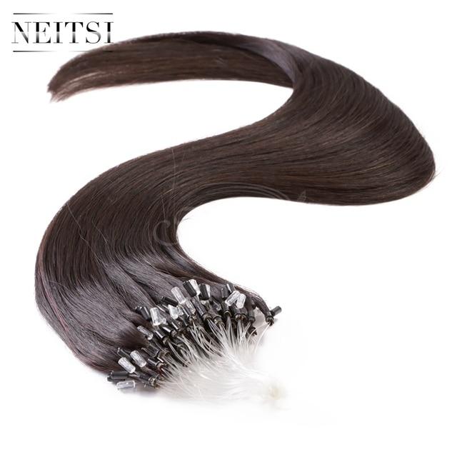 Neitsi Micro Link Human Hair Extensions 20 1gs 50g 100g 1b