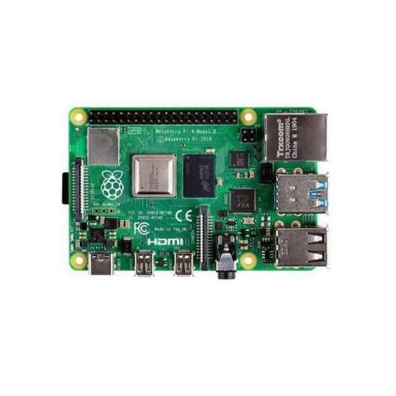 Nouveau Raspberry Original Pi 4 modèle B 2GB RAM Type C Port SBC libérant-version de pré-commande 1.5GHz 64 bits Quad Core 2019 N