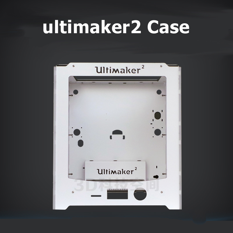 3D printer frame aluminium-plastic + acrylic box shell Compatible with Ultimaker2+ for um2+ case for your diy accessories3D printer frame aluminium-plastic + acrylic box shell Compatible with Ultimaker2+ for um2+ case for your diy accessories