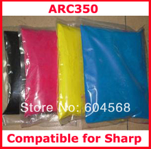 High quality color toner powder compatible for Sharp ARC350350 Free shipping