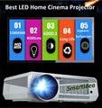 220 Вт HD из светодиодов 3D жк-проектор для домашнего кинотеатра 4500 lumens цифрового видео игру Proyector 1280 x 800 пикселей 6000 : 1 микро-hdmi тв лучемет