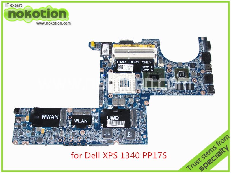 DA0IM3MBAG0 REV G CN-0K184D K184D For dell XPS 1340 PP17S laptop motherboard Nvidia GeForce 9200M graphics DDR3