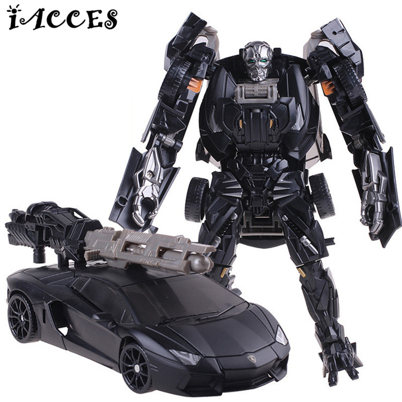 Cool Plastic ABS + Alloy Transformation Robot Car Toys Anime Brinquedos Movie 4 Action Figures Classic Model Toys Boys Gifts original alloy transformation4 robot toys action figure transformation car robot classic toys for boys juguetes for gifts toys
