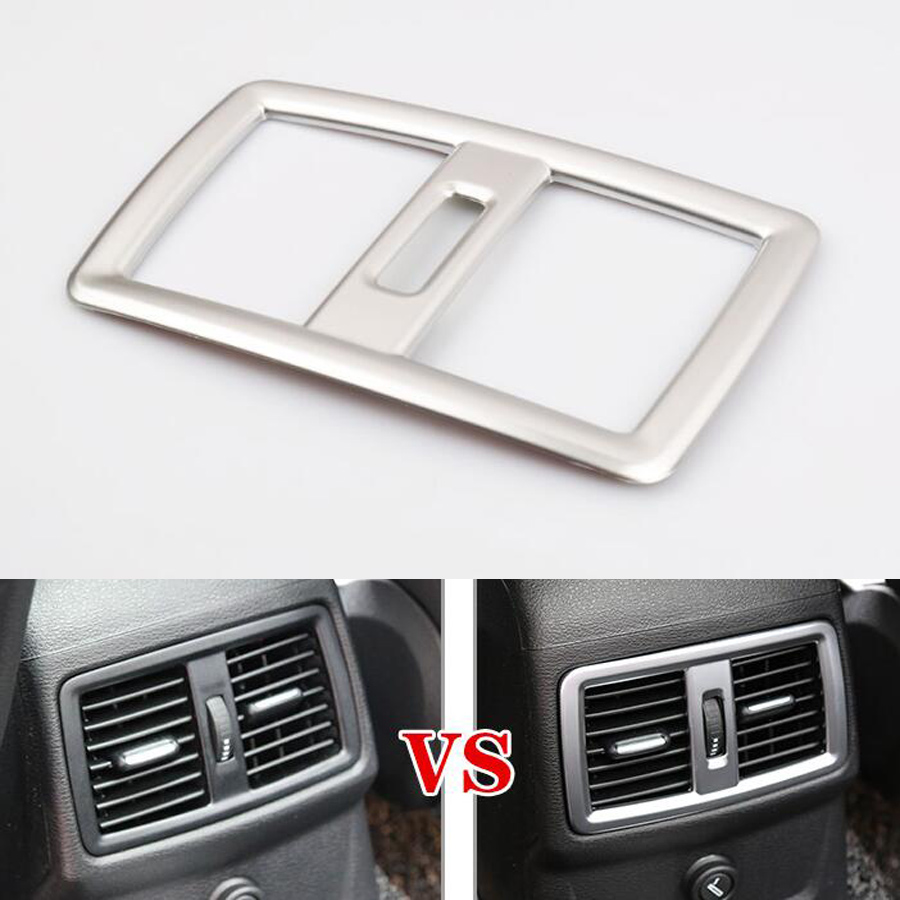 YAQUICKA Auto Innen Rear Air Outlet Vent Rahmen Trim Styling ...