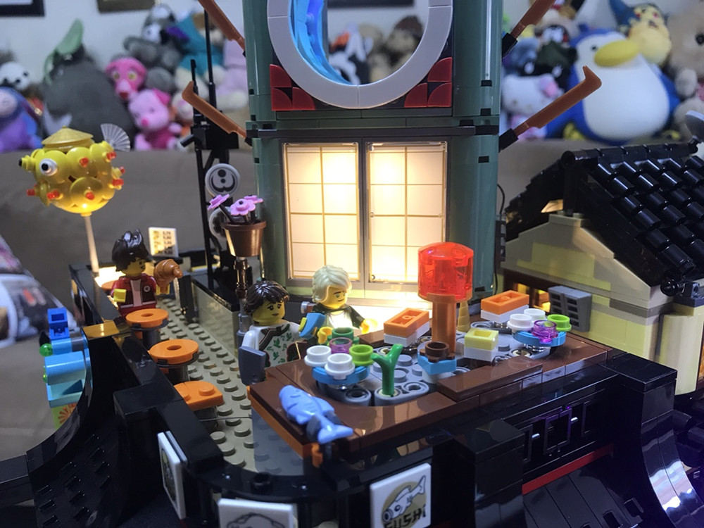 Illuminazione per lego lego city e le sue luci di notte aprile